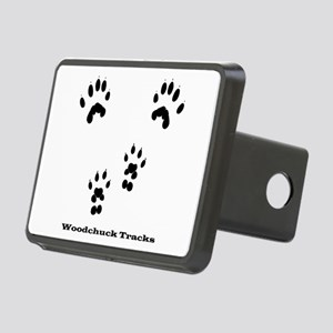 Woodchuck Tracks Rectangular Hitch Cover