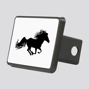 Flashy Horse Silhouette Rectangular Hitch Cover