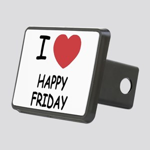 HAPPY_FRIDAY Rectangular Hitch Cover