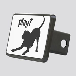 play Rectangular Hitch Cover