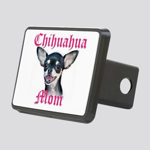 chihuahua mom Rectangular Hitch Cover