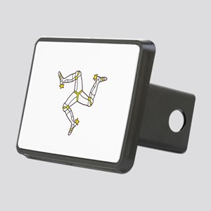 Isle of Man Rectangular Hitch Cover