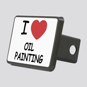 OIL_PAINTING Rectangular Hitch Cover
