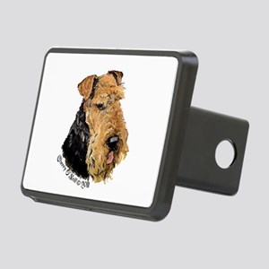 Airedale Terrier Good Dog Rectangular Hitch Cover