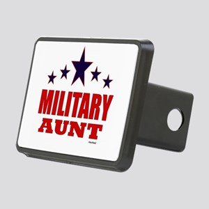 Military Aunt Rectangular Hitch Cover