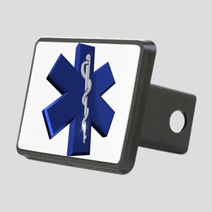 Star of Life Logo Rectangular Hitch Cover
