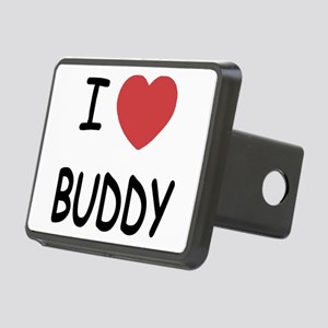 I heart BUDDY Rectangular Hitch Cover