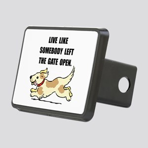 Dog Gate Open Rectangular Hitch Cover