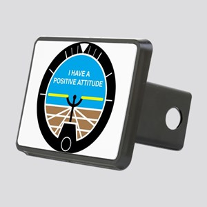 I Have a Positive Attitude Rectangular Hitch Cover