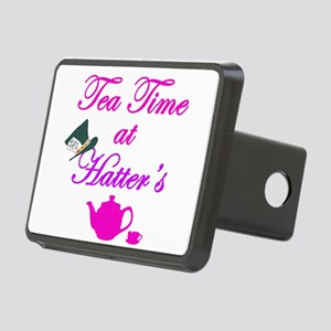 Tea Time at Hatters Rectangular Hitch Cover