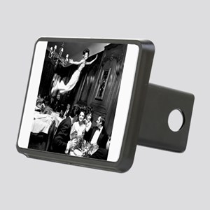 The Flying Dinner Rectangular Hitch Cover