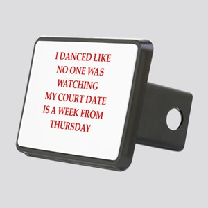 dancing Rectangular Hitch Cover