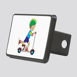 Scooter Boy Rectangular Hitch Cover