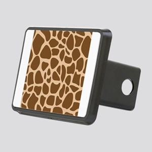 Giraffe Animal Print Rectangular Hitch Cover
