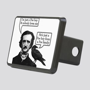 Poe Boy II Rectangular Hitch Cover