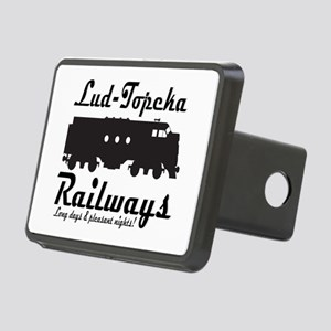 Lud-Topeka Railways Rectangular Hitch Cover