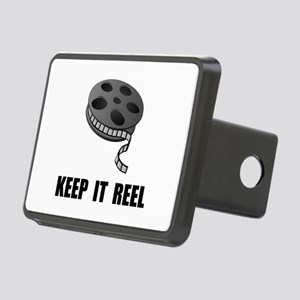 Keep Movie Reel Rectangular Hitch Cover