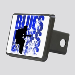 blues guitar Rectangular Hitch Cover