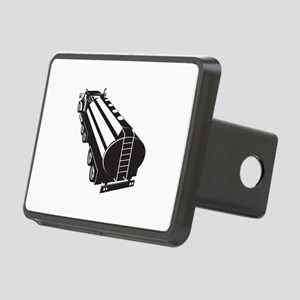 Fuel Tanker Truck Retro Rectangular Hitch Cover