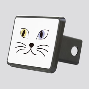 Charming Odd-eyed Cat Rectangular Hitch Cover