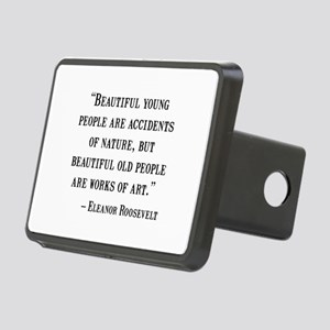 Eleanor Roosevelt Quote Hitch Cover