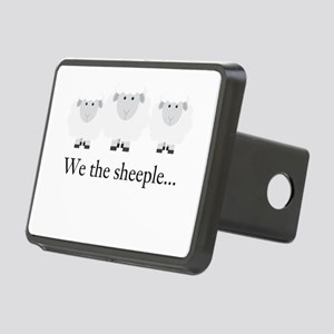 We the Sheeple Hitch Cover