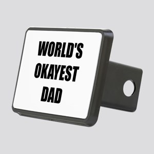 Worlds Okayest Dad Hitch Cover