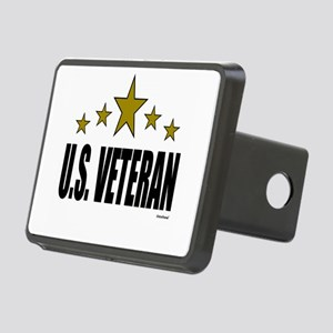 U.S. Veteran Rectangular Hitch Cover