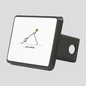 Yoga Exhale Rectangular Hitch Cover