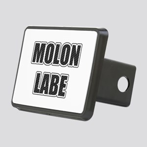Molon Labe - Carbon Hitch Cover