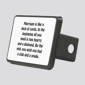 Marriage Cards Hitch Cover