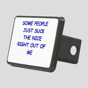 i hate people Hitch Cover