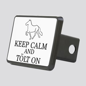 Keep Calm and Tolt On Hitch Cover