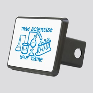 Personalized Mad Scientist Hitch Cover