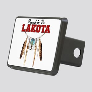 Proud to be Lakota Rectangular Hitch Cover