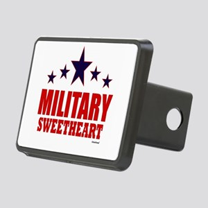 Military Sweetheart Rectangular Hitch Cover