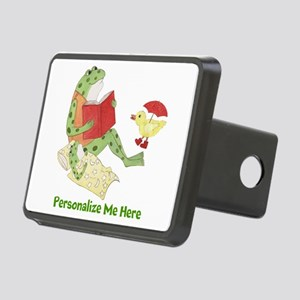 Personalized Frog Rectangular Hitch Cover