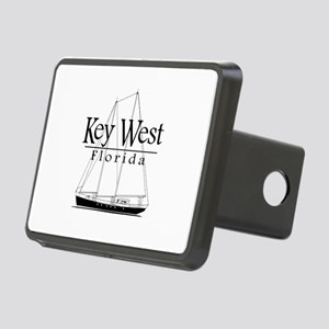 Key West Sailing Black Hitch Cover