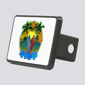 Surfing Sunset Hitch Cover