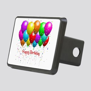 Happy Birthday Balloons Hitch Cover