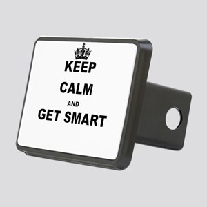 KEEP CALM AND GET SMART Hitch Cover