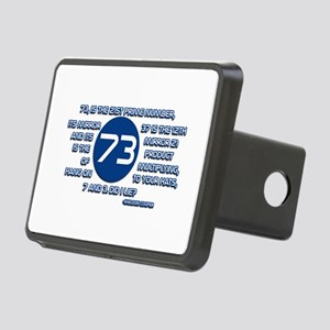 73 Prime Number Sheldon Cooper Hitch Cover