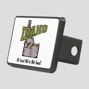 Idaho - Funny Saying Rectangular Hitch Cover