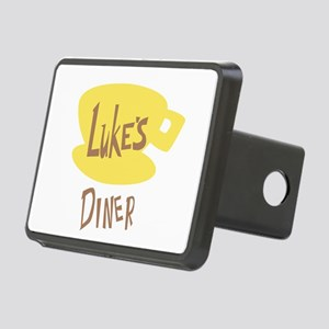 Lukes Diner Logo Hitch Cover