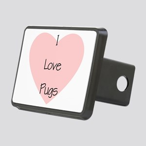 lovepugs Rectangular Hitch Cover