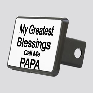 My Greatest Blessings call me PAPA Hitch Cover