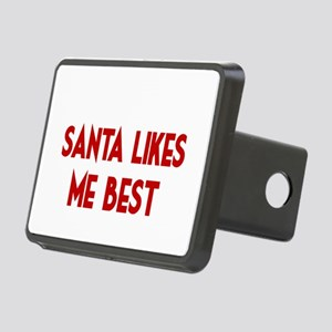 SANTA LIKES ME BEST Hitch Cover