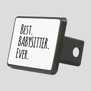 Best Babysitter Ever Rectangular Hitch Cover