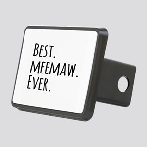 Best Meemaw Ever Rectangular Hitch Cover