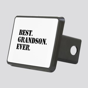 Best Grandson Ever Rectangular Hitch Cover
